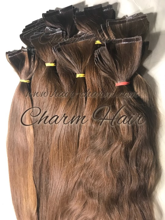 Tape In Hair Extensions Russian Hair Tape